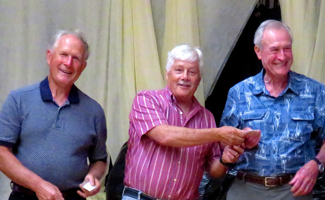 Mike Biniek and Ed Dorsey Become Lions Club Members