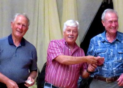 Mike Biniek and Ed Dorsey Become Lions Club Members